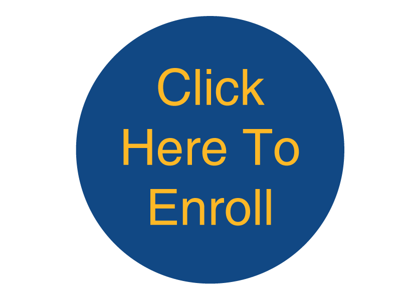 graphic that says Click Here o Enroll