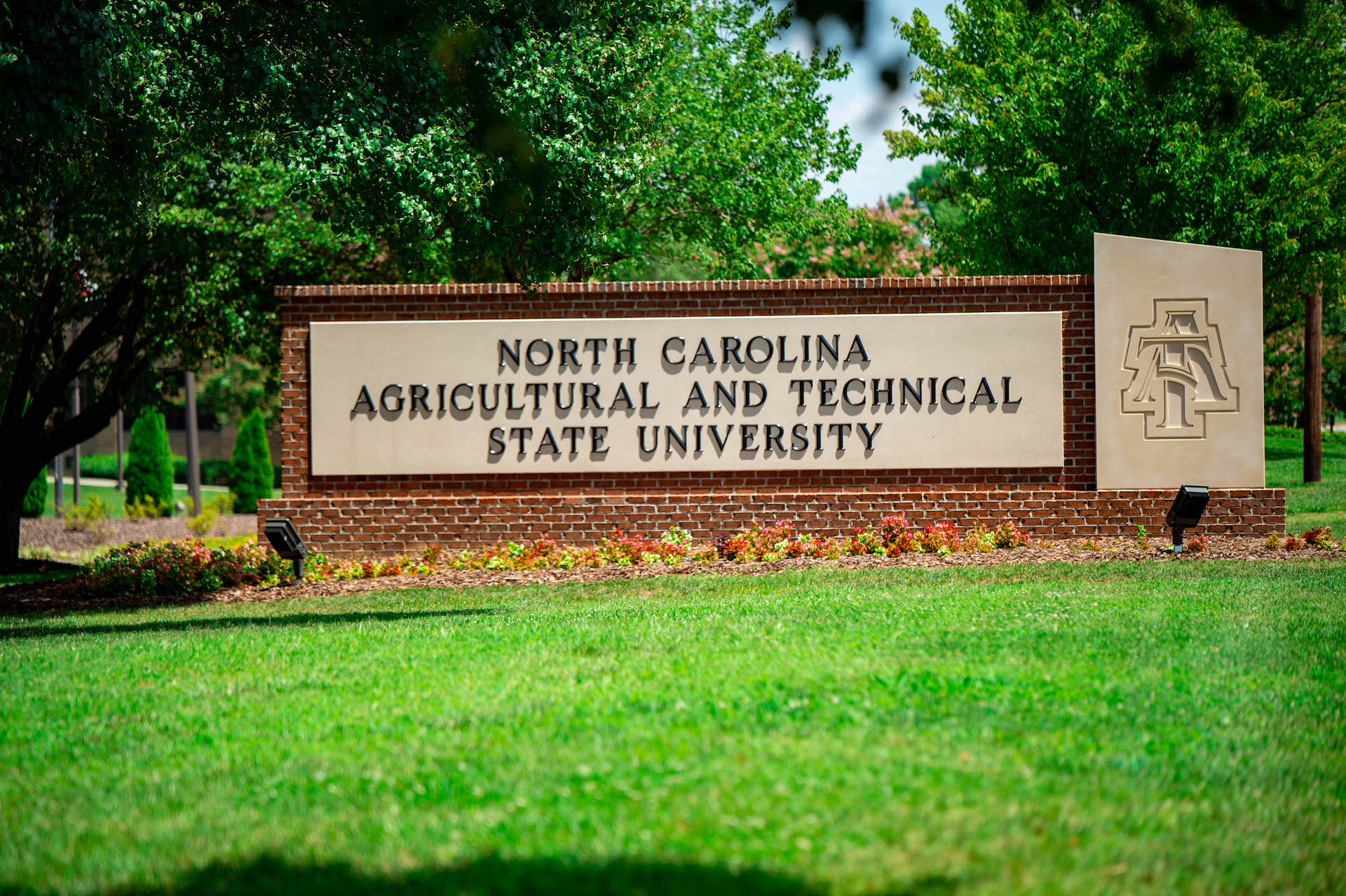 N.C. A&T Sign
