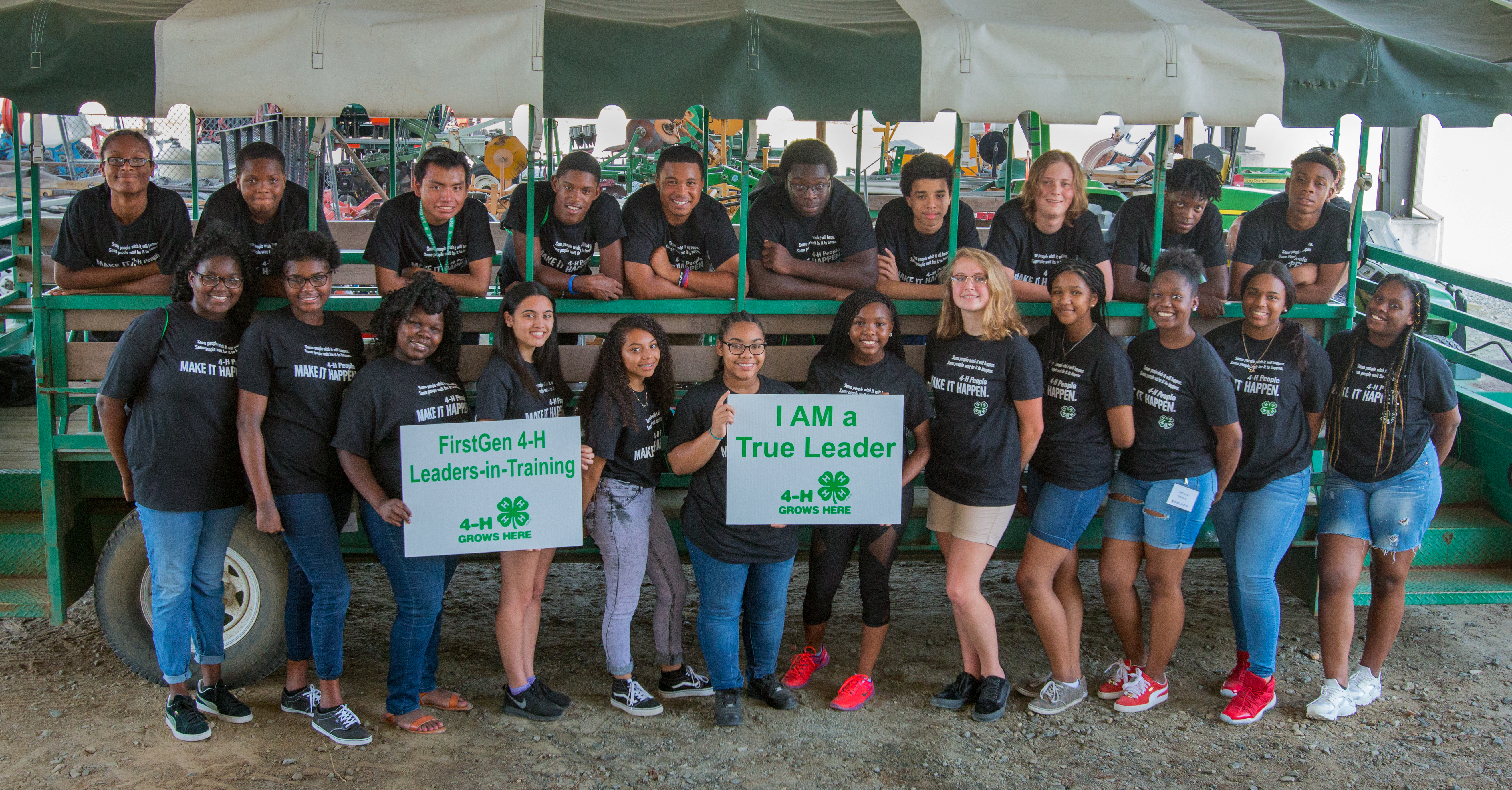 Group of 4-H Students