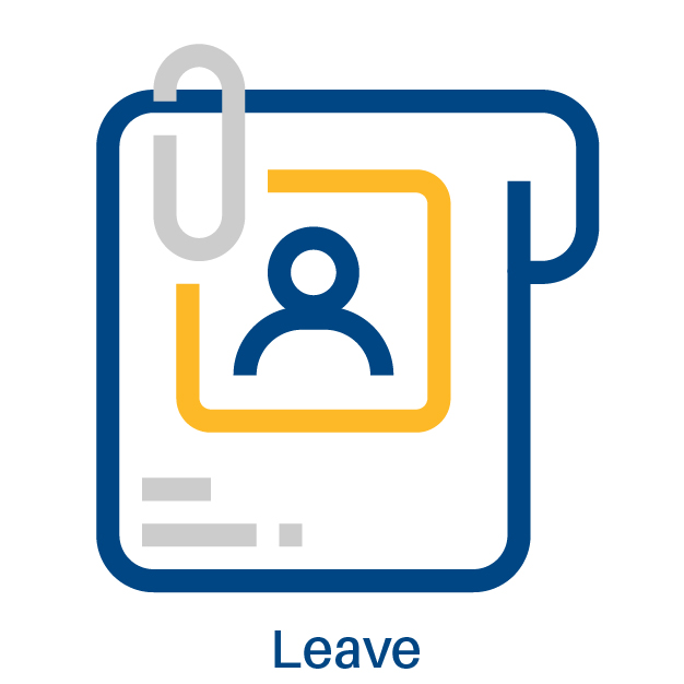 graphic representing leave